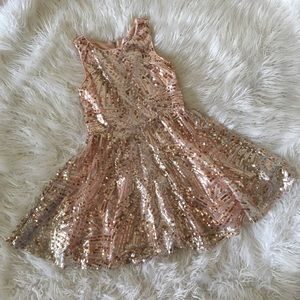 GB girls size 14 sequence dress